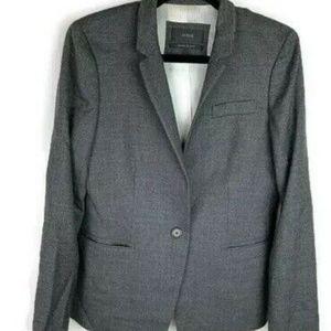 J. Crew Women's Regent Blazer Size 10 Gray